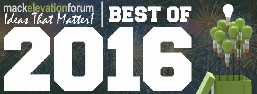 The BEST IDEAS of 2016