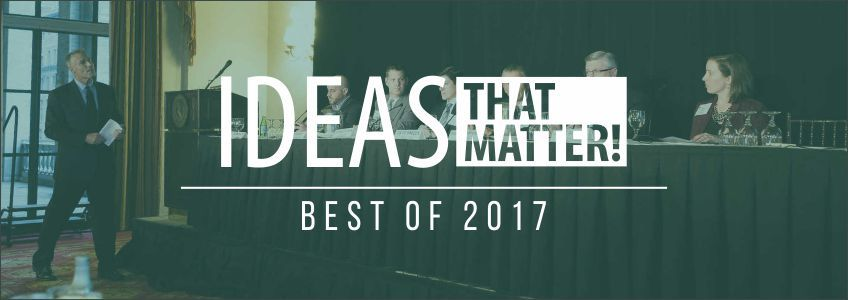 The BEST IDEAS of 2017