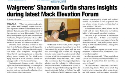 Walgreens' Shannon Curtin shares insights during latest Mack Elevation Forum