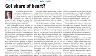 Got share of heart?